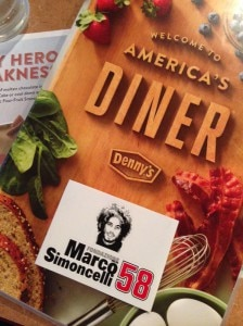 The annual Marco Simoncelli Memorial Dinner at Denny's happened tonight.
