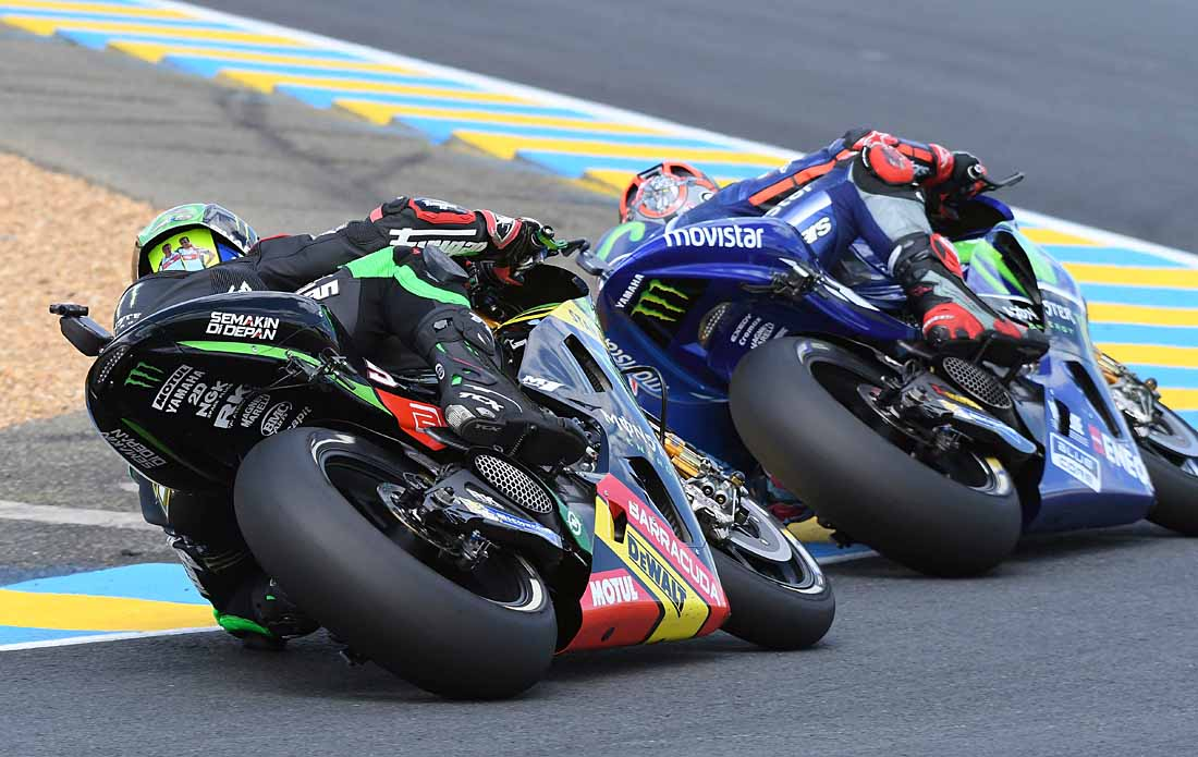 have made serious errors and the only rider to have scored points in every race is the other Tech 3 rookie Jonas Folger who is ninth overall.