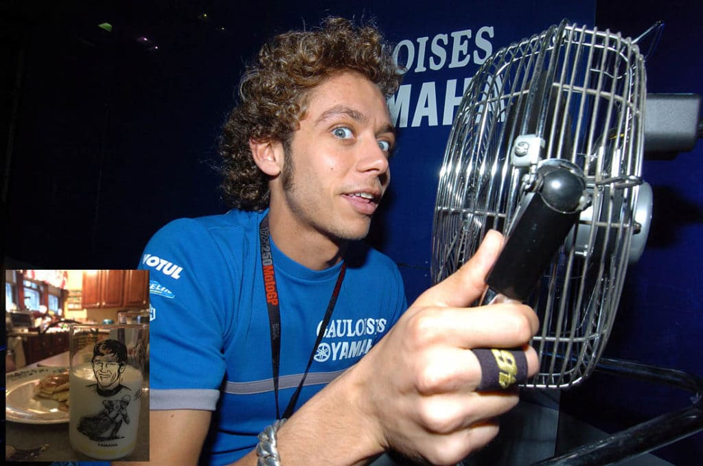 How will Rossi's fans react to his distaste for battery bikes?