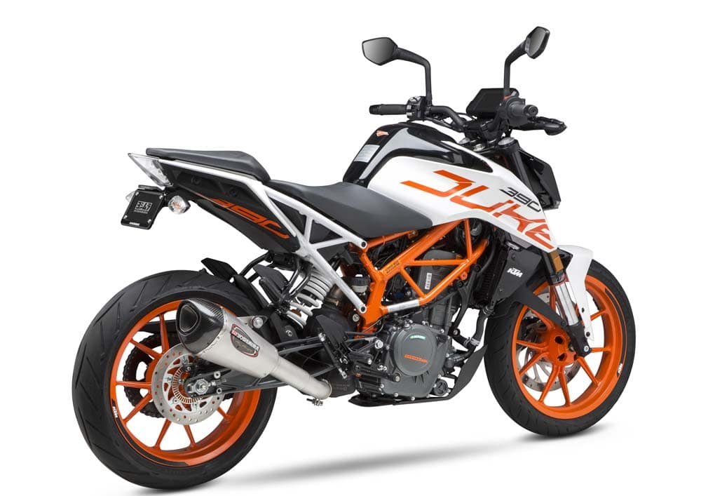 If The Great Pumpin needed to finish off his ensemble with a bike it'd be a KTM.