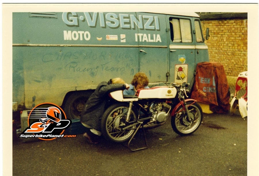 While the GP was still held at the IOM TT then, Silverstone saw many of the GP teams attend their races.