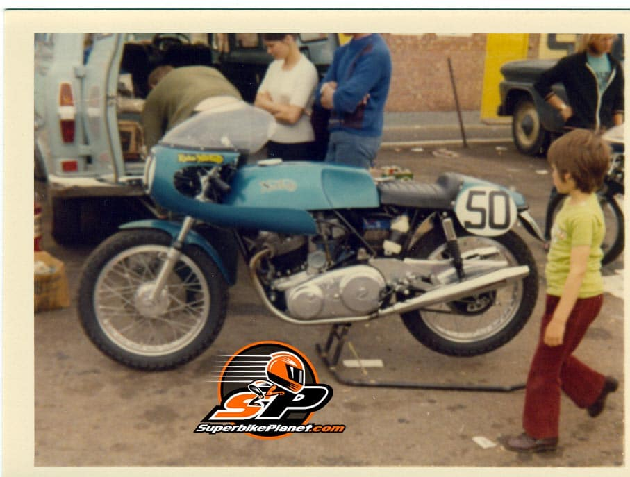 The GSX-R of its day: the Norton Commando. Probably not a cooler name for a bike.