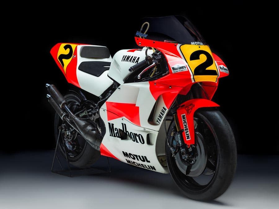 Wayne Rainey's 1990 Yamaha YZR500 GP Bike