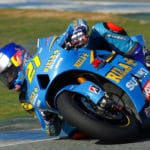 John Hopkins has been fast ever since he stepped on a 800cc MotoGP bike. Seems to have the lean angle right too.