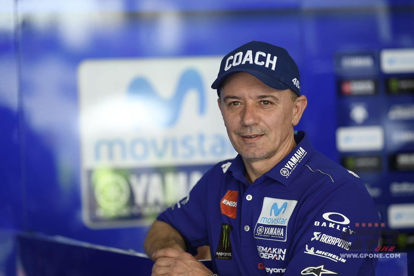 """Not to fret, Rossi fans, Cadalora's job as """"COACH"""" is safe."""