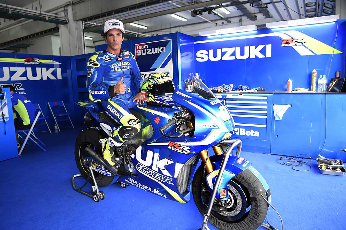 MotoAmerica Champion Elias Rides Suzuki MotoGP Bike At Sepang – SuperbikePlanet