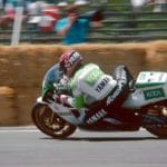 Randy Mamola on the Team Kool Roberts YZR500 GP bike.