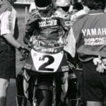 Jamie James--the infamous Atlanta incident cost him the Superbike title. EXUP Upset.