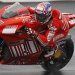 Herewith, a quick look back at the 2008 Indy MotoGP race: Casey Stoner on the gas in the rain.