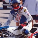 Connecticut rider Chris D'Alusio was a force to be reckoned with in AMA 250GP racing, especially when he rode a Yamaha TZ250 for Southwest Motorsports. He works for Specalized bicycles now.