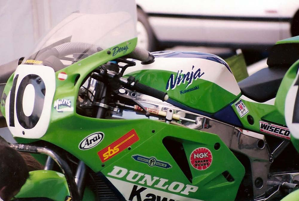 Doug Chandler's Kawasaki Superbike. The bike that put Kawasaki back on the map in Superbike.