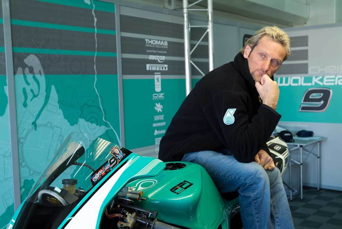 Carl Fogarty--he went on record stating he hated America and Americans.