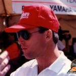 Kenny Roberts. You thought you spent a wad at Laguna? One year, Roberts spent $4 million. Note: sunglasses.