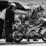 After the brake pads fell out at 170mph, the team took baby steps to get Kipp back up to speed. 'Just push the bike a few feet and grab the lever. It'll stop, really ...'