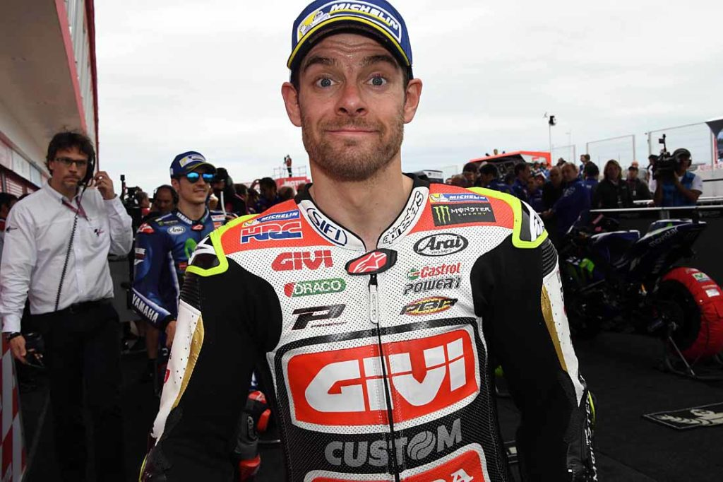 """Crutchlow suffered a broken leg/ankle in Australia. He admits the slow healing injury and hospital were """"dark days""""."""