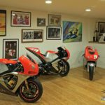 Kurtis Roberts' Erion Honda is also on display in his father's private museum.