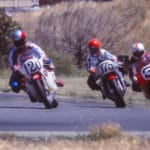 Sears Point 1977 (120 Harry DeGouw, 175 Jim Dunn and 3 Gene Romero on the outside).