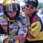 American Ben Bostrom on the Zero Gravity RC45. His then GF Leeann Tweeden with him. The year of the Mostaccioli incident.