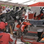"""600 Supersport tech inspection. """"You sure you don't want a chair, a water a ..."""""""