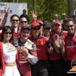 That time the entire Honda Superbike team correctly guessed the number between 2 and 4.