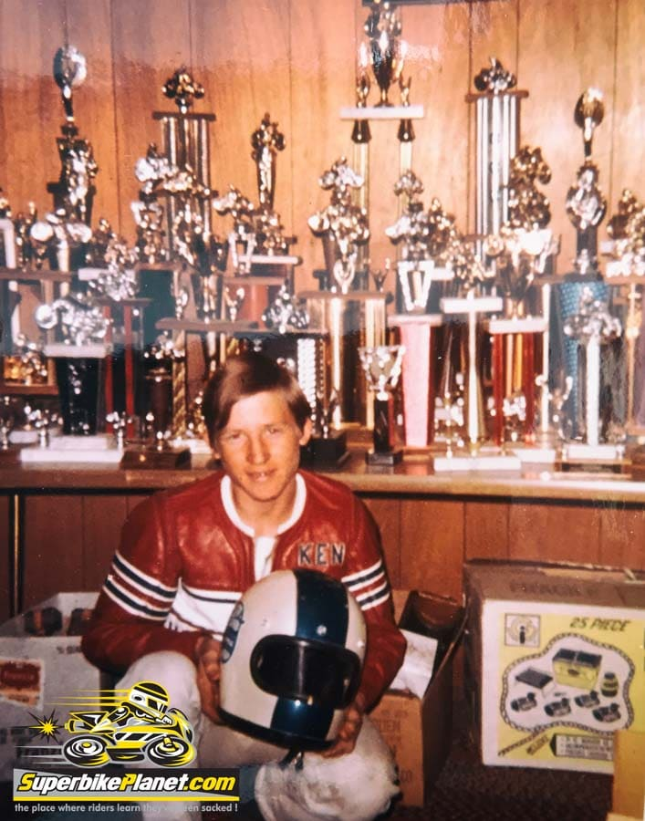 In the beginning the trophy case was the top of the living room TV. Then it grew to take up most of the counter space. 30 years later it was an entire museum.