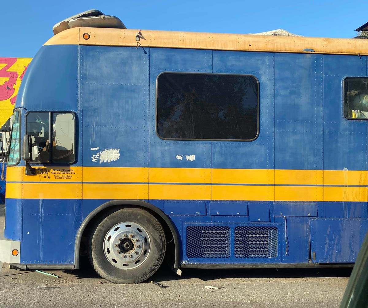 The old A&A Racing bus has been found.