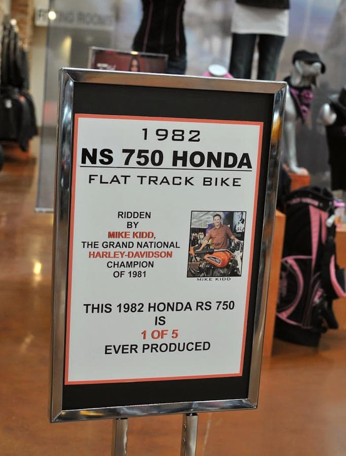 Carter's book should have good stories and information from Honda's legendary dirt track effort.
